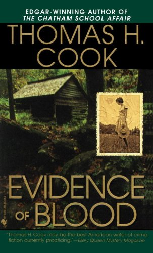 Evidence of Blood A Novel Reprint 9780553578362 Front Cover