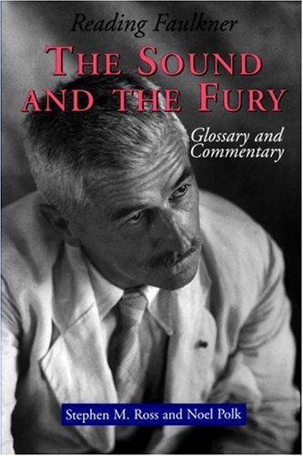 Reading Faulkner The Sound and the Fury  1996 edition cover