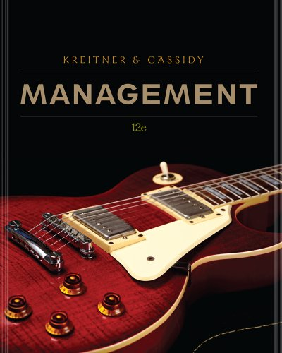 Management  12th 2013 edition cover
