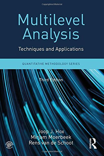 Multilevel Analysis: Techniques and Applications  2017 9781138121362 Front Cover