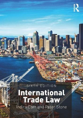 Cover art for International Trade Law, 6th Edition