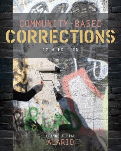 Community-based Corrections:   2018 9781337687362 Front Cover