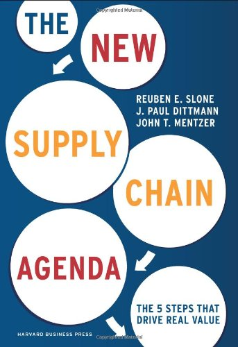 New Supply Chain Agenda The 5 Steps That Drive Real Value  2010 9781422149362 Front Cover