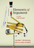 Elements of Argument: A Text and Reader  2014 edition cover