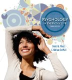 Psychology in Everyday Life:   2014 9781464109362 Front Cover