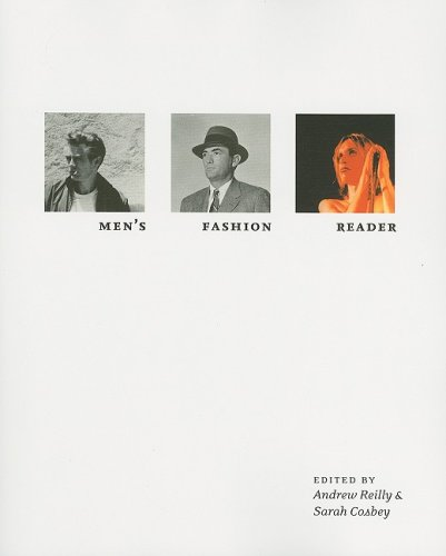 Men's Fashion Reader   2008 9781563675362 Front Cover