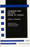 Commentary on the Book of Jonah Haimo of Auxerre  1993 9781879288362 Front Cover