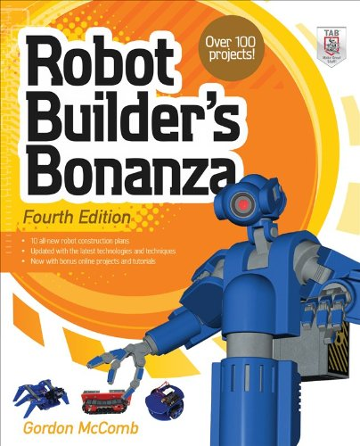 Robot Builder's Bonanza  4th 2011 edition cover