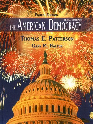 American Democracy 8th 2008 edition cover