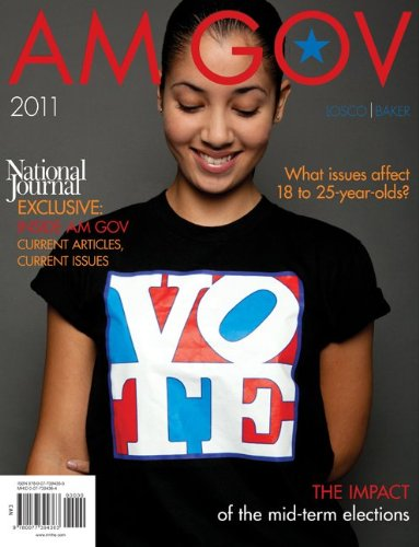 Am Gov 2011  2nd 2011 edition cover