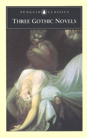 Three Gothic Novels The Castle of Otranto; Vathek; Frankenstein  1986 edition cover