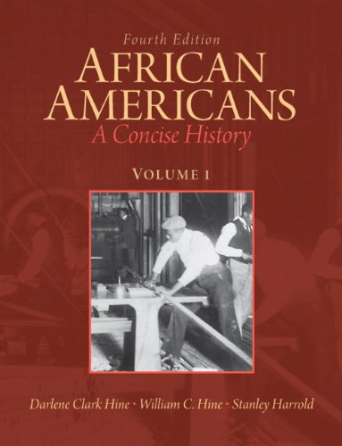 African Americans A Concise History 4th 2012 9780205809363 Front Cover