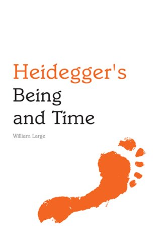 Heidegger's Being and Time   2008 edition cover