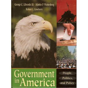 Government in America : People, Politics and Policy 10th edition cover