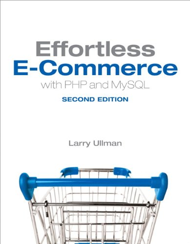 Effortless e-Commerce with PHP and MySQL  2nd 2014 edition cover