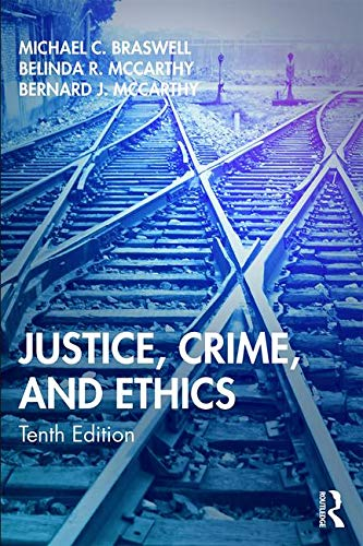 Justice Crime and Ethics  N/A 9780367196363 Front Cover