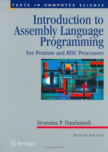 Introduction to Assembly Language Programming For Pentium and RISC Processors 2nd 2005 (Revised) edition cover