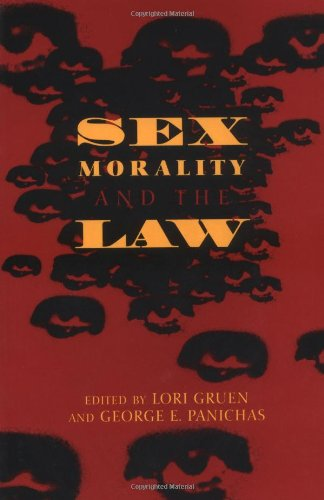 Sex, Morality, and the Law   1997 edition cover