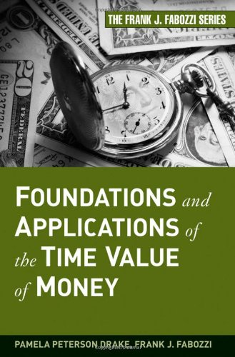 Foundations and Applications of the Time Value of Money   2009 edition cover