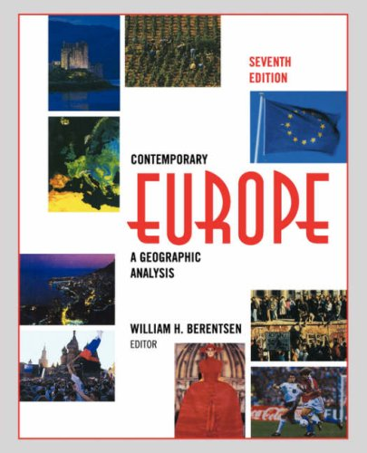 Contemporary Europe A Geographic Analysis 7th 1997 (Revised) 9780471583363 Front Cover