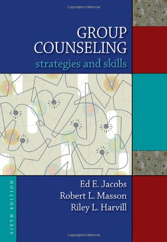 Group Counseling Strategies and Skills 6th 2009 edition cover