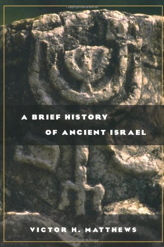 Brief History of Ancient Israel   2003 edition cover