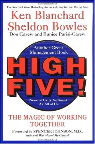 High Five! The Magic of Working Together  2001 9780688170363 Front Cover