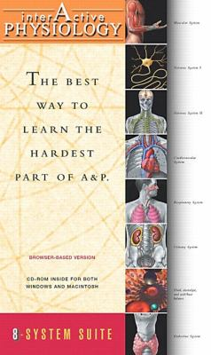 Interactive Physiology 8-System Suite  2003 edition cover