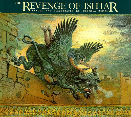 Revenge of Ishtar   1993 (Reprint) 9780887764363 Front Cover