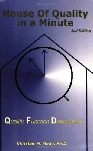 House of Quality in a Minute : Quality Function Deployment 1st 2006 edition cover