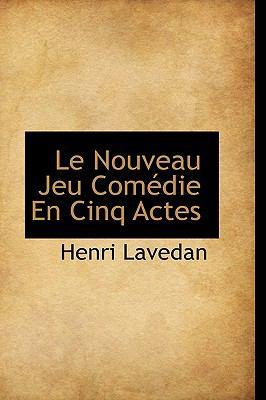 Nouveau Jeu Comédie en Cinq Actes N/A edition cover