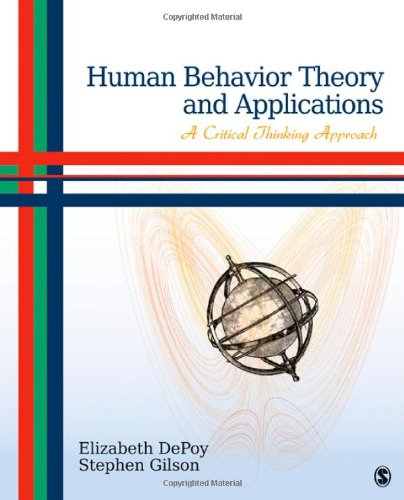 Human Behavior Theory and Applications A Critical Thinking Approach  2012 edition cover