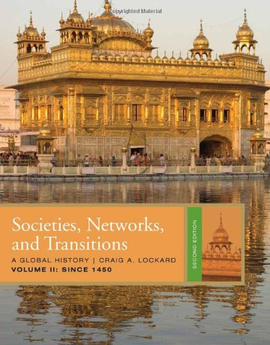 Societies, Networks, and Transitions - Since 1450  2nd 2011 edition cover