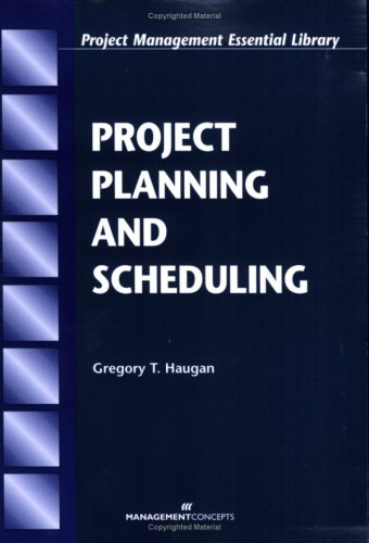 Project Planning and Scheduling   2002 edition cover