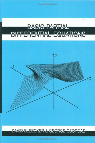 Basic Partial Differential Equations   1996 edition cover