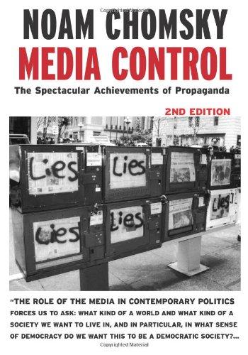Media Control The Spectacular Achievements of Propaganda 11th 2002 edition cover