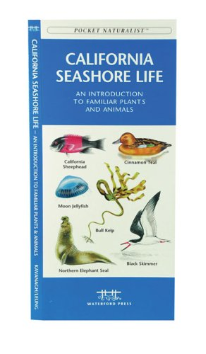 California Seashore Life A Folding Pocket Guide to Familiar Plants and Animals  2001 edition cover