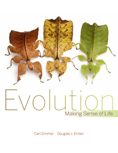 Evolution Making Sense of Life  2012 edition cover