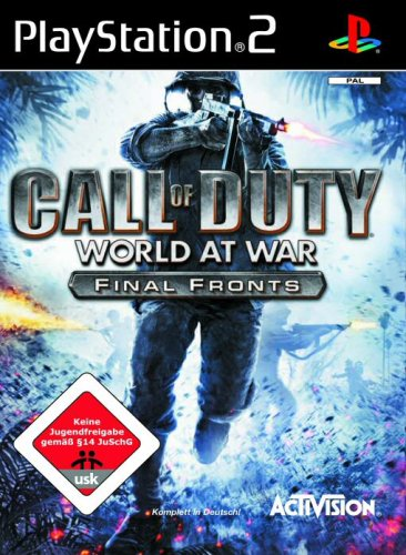 Call of Duty - World at War PlayStation2 artwork