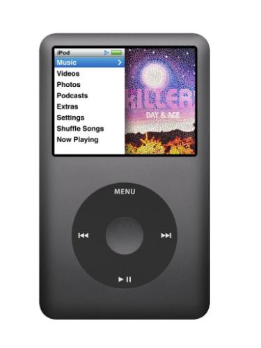 Apple iPod Classic - 160GB - Black (7th Generation) product image