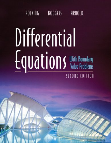 Differential Equations with Boundary Value Problems  2nd 2006 (Revised) edition cover