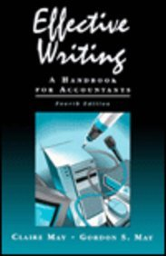 Effective Writing A Handbook for Accountants 4th 1996 edition cover