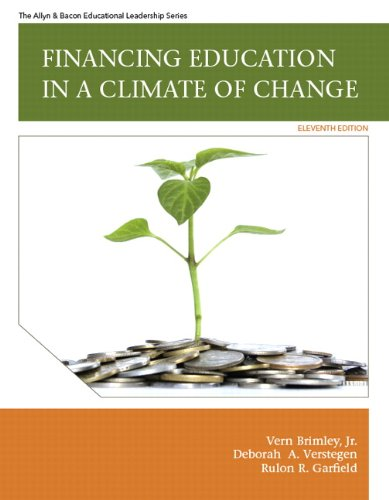 Financing Education in a Climate of Change  11th 2012 edition cover