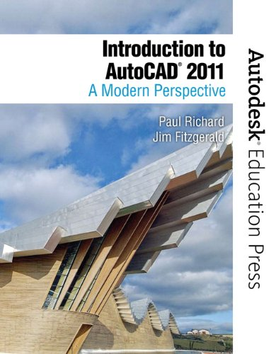 Introduction to AutoCAD 2011 A Modern Perspective  2011 9780138016364 Front Cover