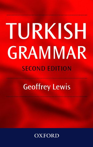 Turkish Grammar  2nd 2000 (Revised) edition cover