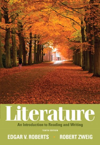 Literature An Introduction to Reading and Writing 10th 2012 edition cover