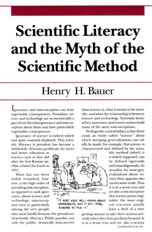 Scientific Literacy and the Myth of the Scientific Method  N/A edition cover