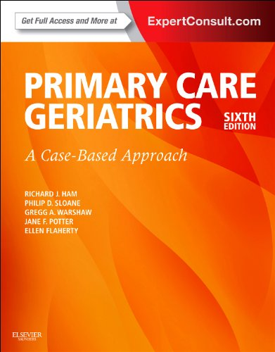 Primary Care Geriatrics A Case-Based Approach 6th 2014 edition cover