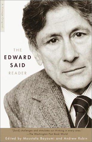Edward Said Reader   2000 edition cover