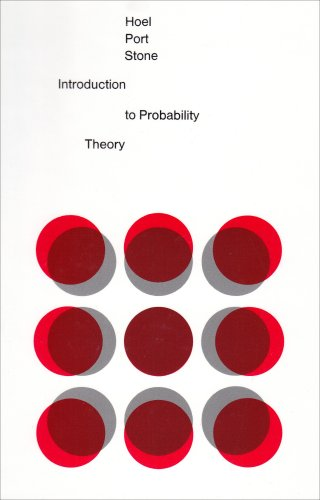 Introduction to Probability Theory  1st 1971 edition cover